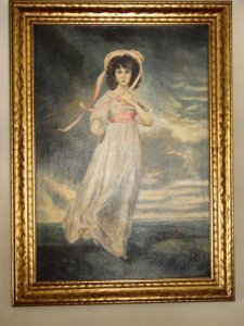 Replica of the famous Pinkie by Thomas Lawrence
