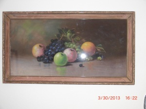 Pastel-Still Life Fruit