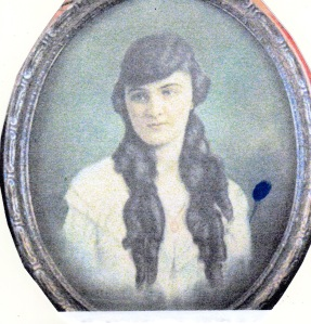 Grandma Hazel Rogers Hubert's youngest child) as a young woman