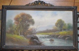 Pastel Landscape by H. Lewis, owned by Johnand Kim Hundley