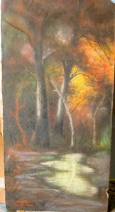 Forest pastel
