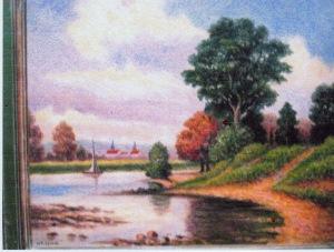 River landscape at Aunt Doris Jean's retouch