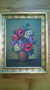James K floral painting